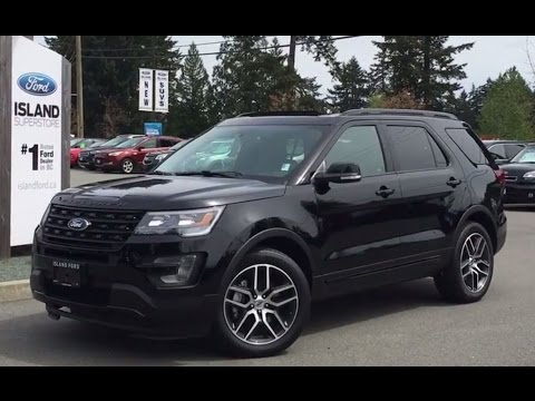 Black Ford Explorer >> 2017 Ford Explorer Sport Ecoboost Awd W Gloss Black Trim Review