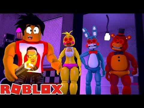 ROBLOX FNAF PIZZERIA TYCOON - FREDDY, CHICA & BONNIE COME TO LIFE IN ROBLOX!!