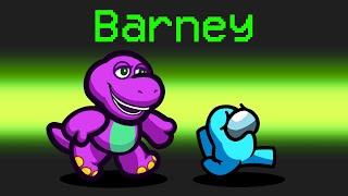 BARNEY Mod in Among Us