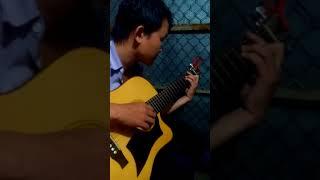 Trăm Năm Không Quên guitar solo [Mitxi Tòng]