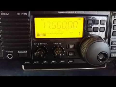 Radio Saudi, Riyadh SAUDI ARABIA - 17560 kHz