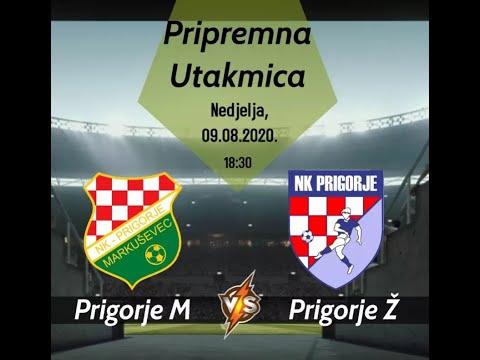 NK Prigorje Markuševec 5 : 2 NK Prigorje Žerjavinec - golovi - prijateljska utakmica