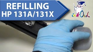 How to Refill HP 131A, 131X Cartridges for M251nw, M276nw (CF210A/CF210X/CF211A/CF212A/CF213A)