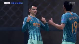 FIFA 19 ps4 Monaco vs Atletico Madrid Champions League 2018 2019 Jornada 1
