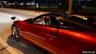 Pagani Huayra Drive | Flaps | Turbo and Exhaust sounds