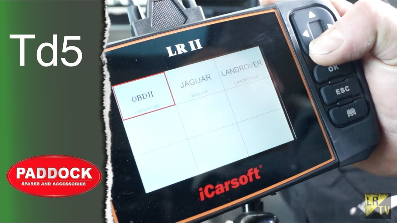 iCarsoft vs  Snap On Ethos Tech vs  Bearmach HawkEye for Land Rover  Discovery 2 Td5