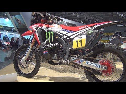 Honda CRFR Rally Dakar  Exterior and Interior