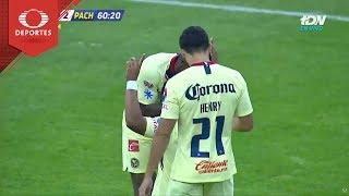 Gol de Roger Martínez | América 4 - 2 Pachuca | Copa Mx - Octavos - Cl 19 | Televisa Deportes
