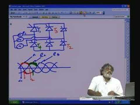 Lecture - 4 Controlled Rectifier Part-III (Three phase)