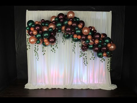 Shimmer and Confetty Balloon Garland Review | DIY | How To | Tutorial