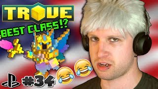 BEST CLASS IN GAME AFTER ECLIPSE!? ✪ Scythe Plays Trove PS4 #34