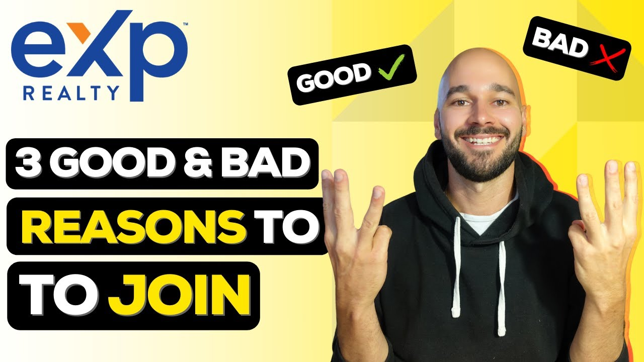Download 3 Good & Bad Reasons To Join eXp Realty in 2021 (120 Day HONEST Review)