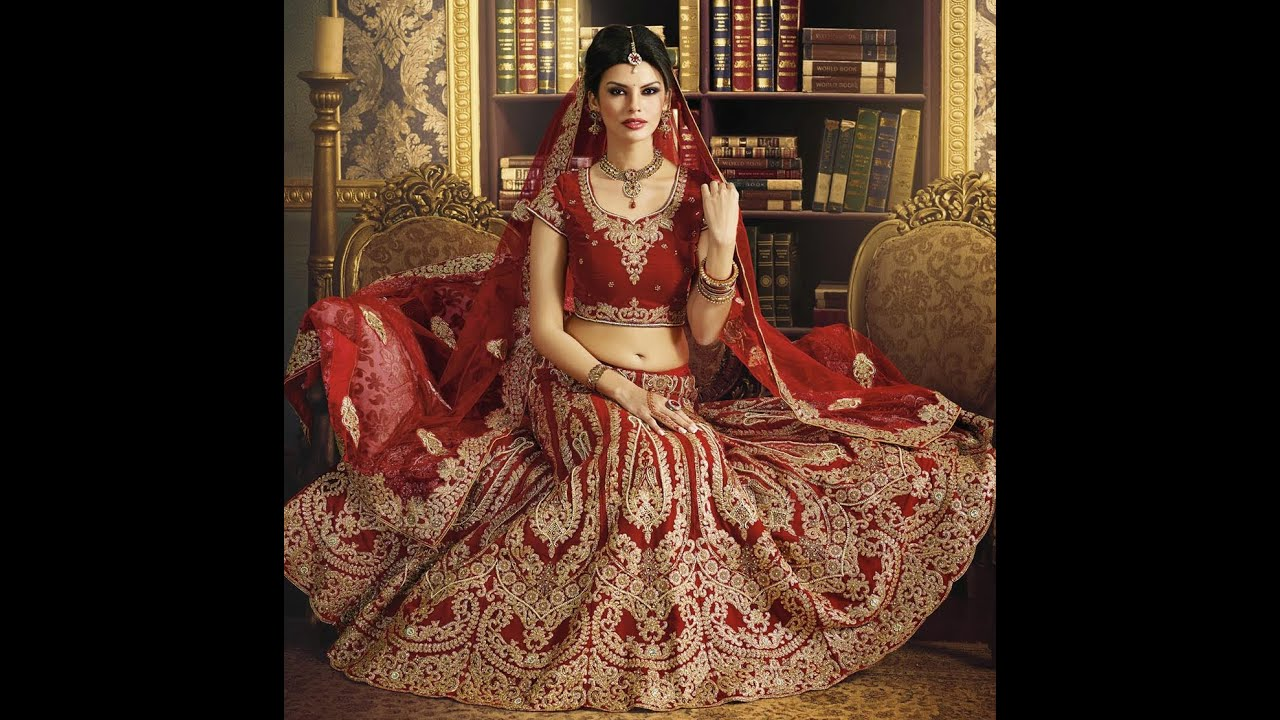 f93105554c44 Wedding Bridal Lehenga 2015 - YouTube