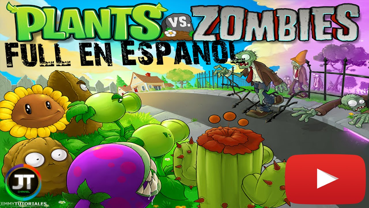 Descargar E Instalar Plantas Vs Zombies 100 Full Y En Español Gameplay Youtube