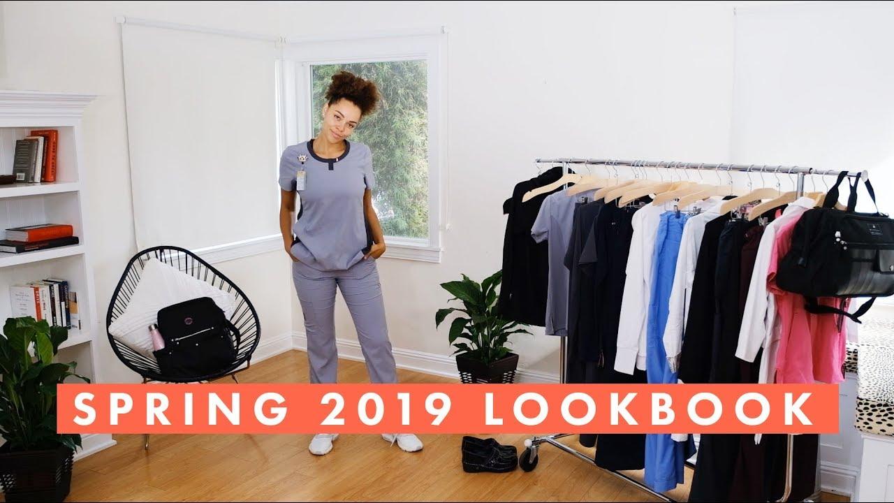 [VIDEO] - Spring 2019 Lookbook   koi Scrubs 1