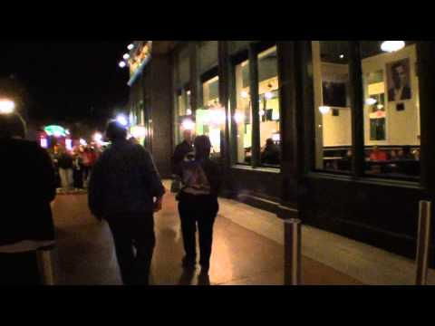 A night walk through Downtown disney