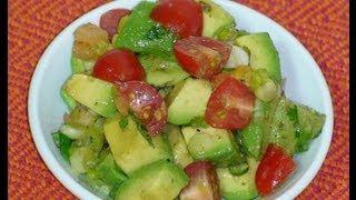 Easy Avocado Salad Recipe