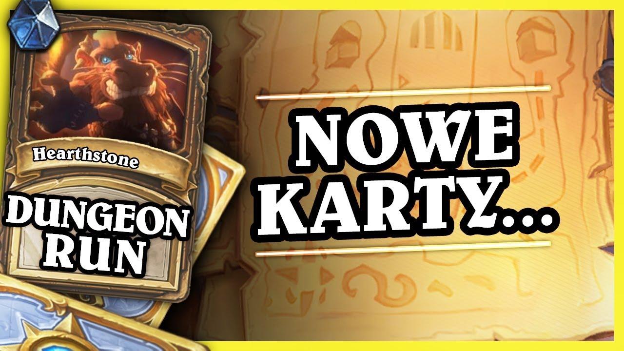 NOWE KARTY, ZMIANY NA ARENIE, RANKEDY – WARRIOR – Hearthstone Dungeon Run