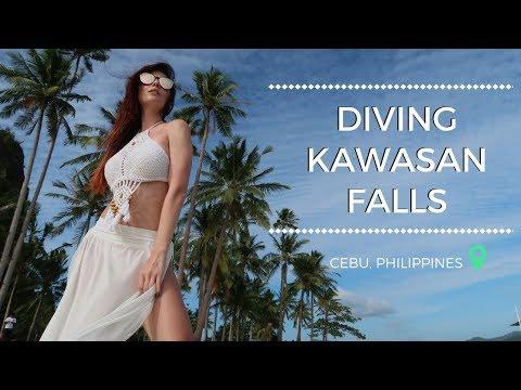 Себу - Моалбоал - Филлипины | Kawasan Falls & Diving | Vlog 2 | FreshMania Travel