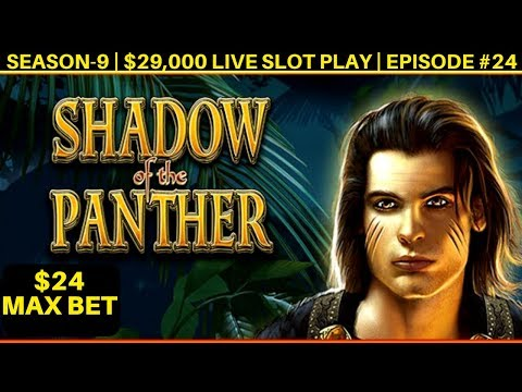 High Limit Shadow Panther Slot Machine Max Bet Bonus - Great Session | Season 9 | Episode #24