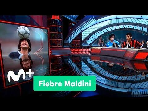 Fiebre Maldini: El mejor Maradona destrozando al mejor Milan | Movistar+