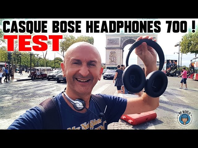 TEST : BOSE Headphones 700 vs Bose QC35, Sony XM3, Jabra 85H !
