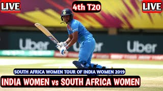 India Women vs South Africa Women 4th T20 Live 🔴 IND W vs SA W 4th T20 Live