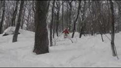 Jay Peak: Brian skiing the Dip January 29, 2009