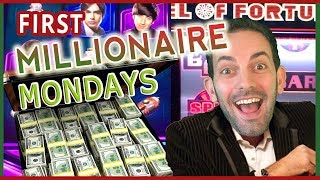 💰💰💰 MILLIONAIRE MONDAYS  ✦ Top Prize of $1000000 ✦ Big Bang Theory & Wheel of Fortune Slot Pokies