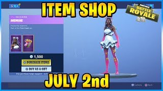 NEW Starfish Skin Set and Crabby Emote! | FORTNITE ITEM SHOP TODAY! (July 2nd, 2019)