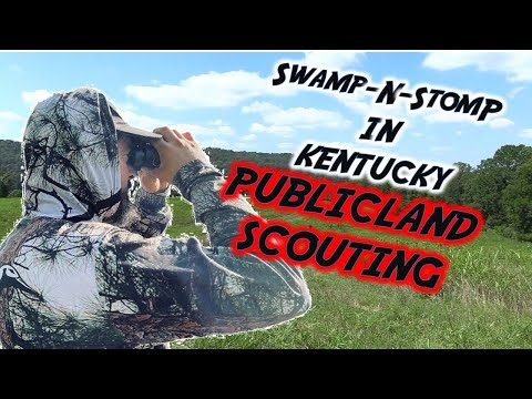 Out Of State Hunt: Kentucky Public Land Weekend Scouting Day 1. (Swamp N Stomp Ep. #2)