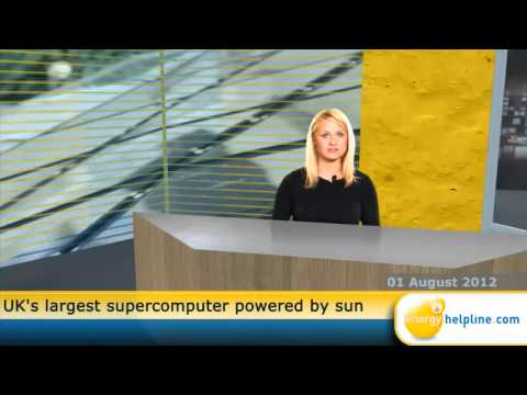 UK's largest supercomputer powered by sun