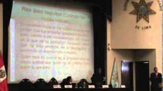 LA ACTIVIDAD PROBATORIA EN LA RESPONSABILIDAD CIVIL - DR. OMAR SUMARIA BENAVENTE