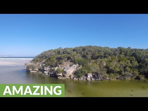 Drone captures the best of Great Southern in Australia