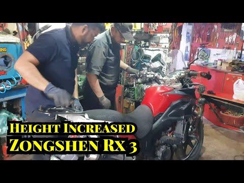 Project Zongshen Rx 3 height Increased  Aqeeq Ansari Dat biker dude