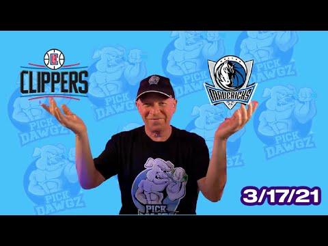 Dallas Mavericks vs Los Angeles Clippers 3/17/21 Free NBA Pick and Prediction NBA Betting Tips
