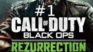 Call of Duty: Black Ops Rezurrection DLC Gameplay with Kootra Nova and Sp00n Part 1: Moon