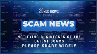 Scam News Oct 2019  - A 30-sec news production by videonewscompany.com