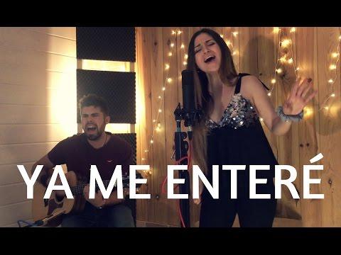 YA ME ENTERÉ - REIK (CAROLINA GARCÍA COVER) YA EN SPOTIFY!