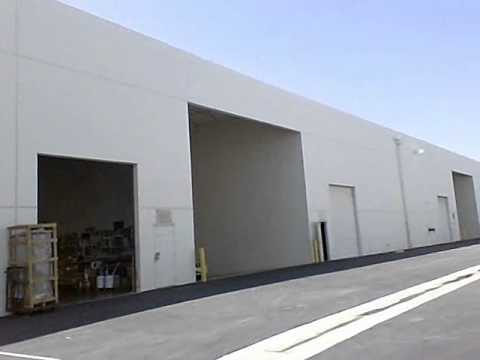 Warehouse For Lease | Small Industrial Spaces Tour - YouTube