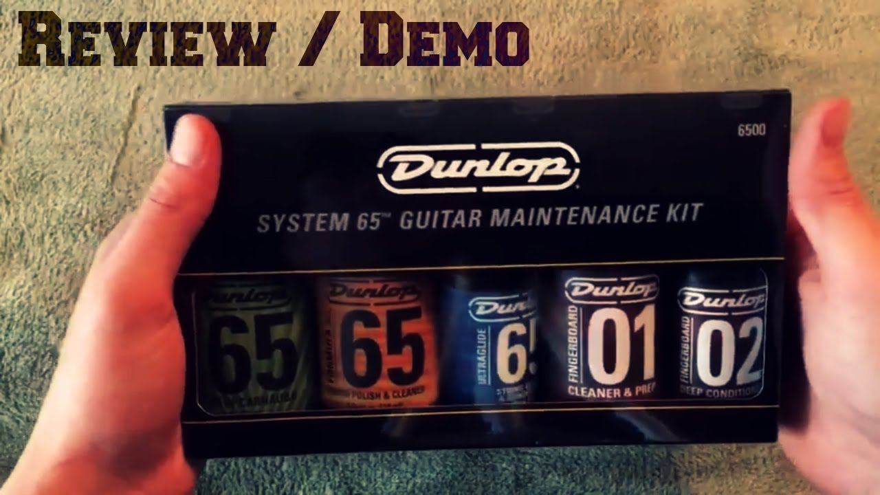 Review System 65 Guitar Maintenance Kit Youtube