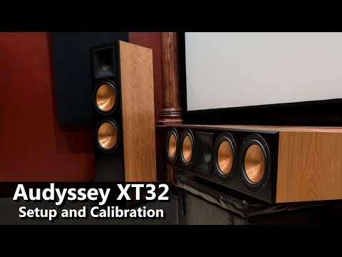 Klipsch RF 7 III and RC 64 III Speakers - Audyssey Calibration Setup for Home Theater