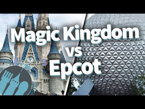 Disney World Magic Kingdom VERSUS Epcot! Which Park Is Best??