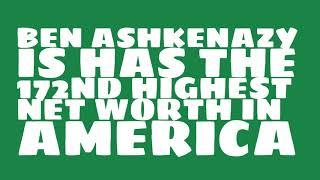 Where does Ben Ashkenazy live?