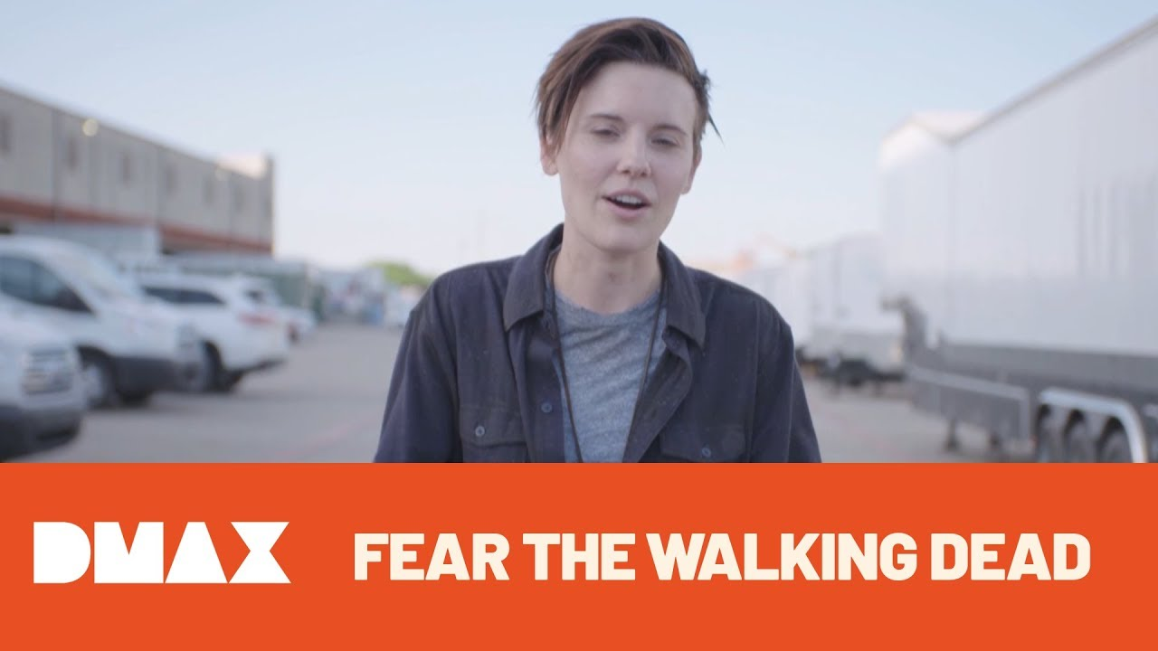 Fear The Walking Dead   4. Sezon   Maggie Grace ile Set