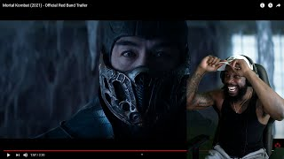 Cash Reacts To Mortal Kombat (2021) - Official Red Band Trailer!! I LIKES THIS!!