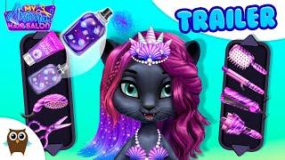 Cute Mermaid Style Challenge  My Animal Hair Salon | TutoTOONS Cartoons & Games for Kids