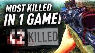 MY MOST KILLS IN ONE GAME - BATTLEGROUNDS - (PUBG)