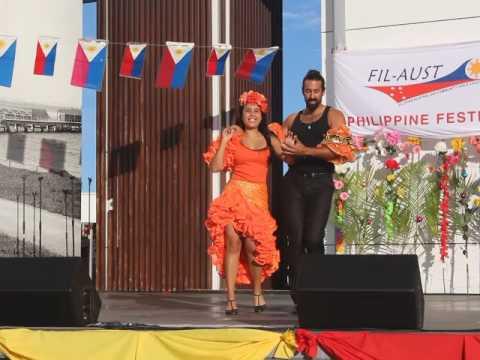 Cuban Salsa Gold Coast  Phillipine Festival  Despacito Salsa Version