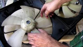 2002 Camry LE Fan Motor Replacement